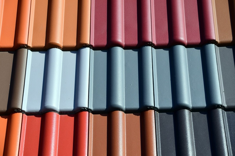 colored roof shingles